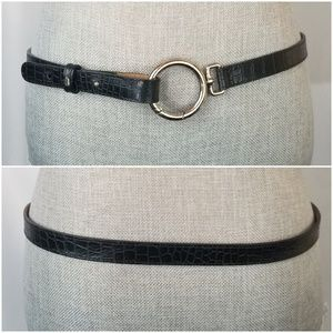 Talbots Leather Belt